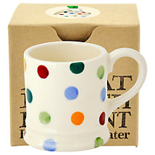 Buy Emma Bridgewater Polka Dot Tiny Mug Christmas Tree Decoration, Multi Online at johnlewis.com