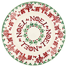 "Buy Emma Bridgewater Christmas Joy 8.5"" Plate, Multi, Dia.22.1cm Online at johnlewis.com"