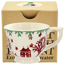 Buy Emma Bridgewater Christmas Joy Tiny Teacup Tree Decoration, Multi Online at johnlewis.com
