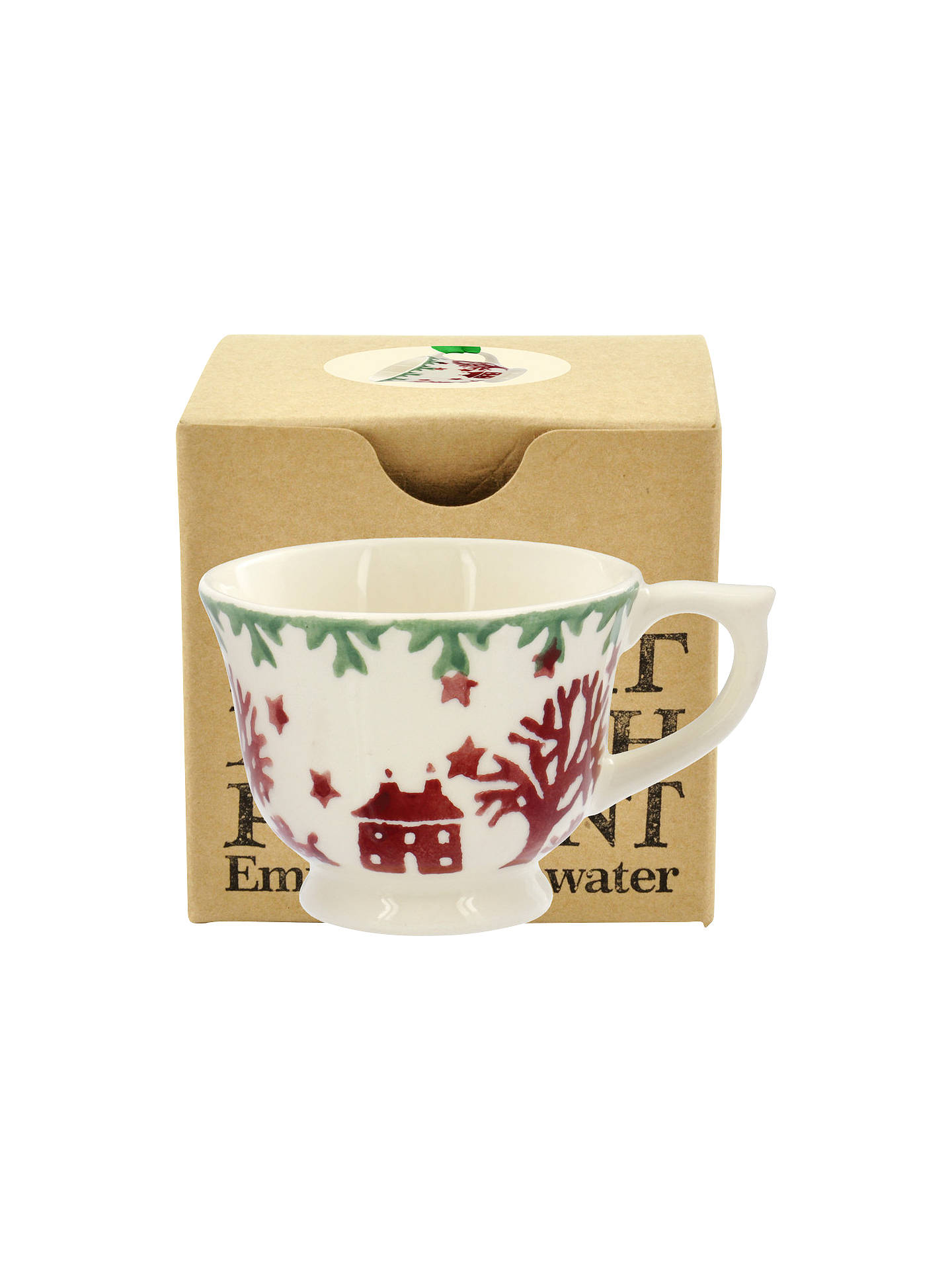 Emma Bridgewater Christmas Joy Tiny Teacup Tree Decoration ...