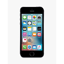 "Buy Apple iPhone SE, iOS, 4"", 4G LTE, SIM Free, 128GB Online at johnlewis.com"
