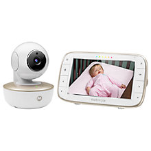 Buy Motorola MBP855 Connect Video Baby Monitor Online at johnlewis.com