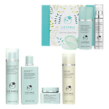 Buy Liz Earle Cleanse & Polish™ Cleanser, Instant Boost™ Skin Tonic, Skin Repair Moisturiser™ - Normal/Combination and Gentle Face Exfoliator™ with Gift Online at johnlewis.com