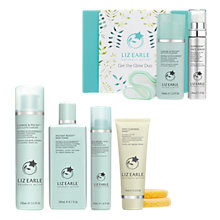 Buy Liz Earle Cleanse & Polish™ Cleanser, Instant Boost™ Skin Tonic, Skin Repair Moisturiser™ Light - Combination/Oily and Deep Cleansing Mask™ with Gift Online at johnlewis.com