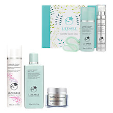 Buy Liz Earle Cleanse & Polish™ Cleanser Rose & Lavender, Instant Boost™ Skin Tonic and Superskin™ Moisturiser, Neroli with Gift Online at johnlewis.com