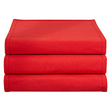 Buy John Lewis Glitter Table Runner, Red Online at johnlewis.com