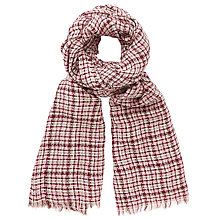 Buy John Lewis Bauhaus Jacquard Scarf, Pink Mix Online at johnlewis.com