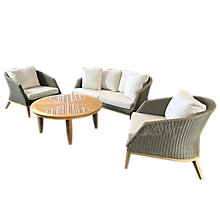 Buy Westminster Grace 4 Seater Garden Lounge Set, FSC-Certified (Teak) Online at johnlewis.com