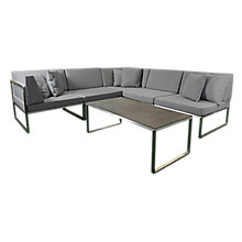Buy Westminster Seattle 5 Seater Garden Lounge Set Online at johnlewis.com