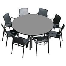 Buy Westminster Madison Round 8 Seater Garden Dining Set Online at johnlewis.com