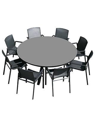 Westminster Madison Round 8 Seater Garden Dining Set At John Lewis Partners