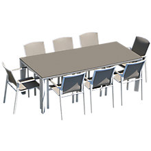 Buy Westminster Madison Rectangular 8 Seater Garden Dining Set Online at johnlewis.com