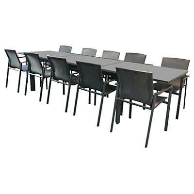 Westminster Madison Rectangular 8-10 Seater Extending Table Garden Dining Set