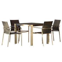 Buy Westminster Seattle Square 4 Seater Garden Dining Set Online at johnlewis.com
