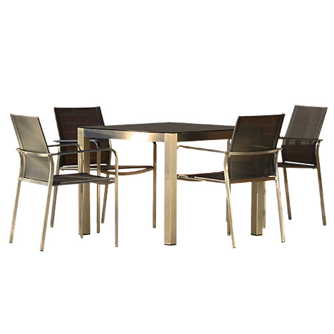 Buy Westminster Seattle Square 4 Seater Garden Dining Set Online At Johnlewis
