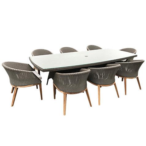 buy westminster valencia grace rectangular 8 seater garden dining set