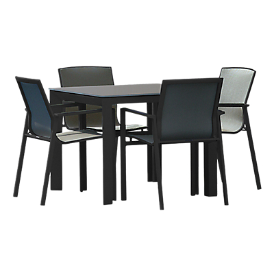 Westminster Madison Square 4 Seater Garden Dining Set