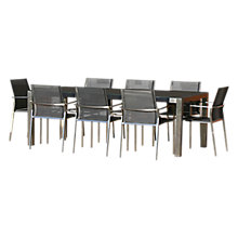 Buy Westminster Seattle Rectangular 8 Seater Garden Dining Set Online at johnlewis.com