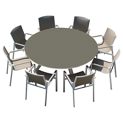 Westminster Madison Round 8 Seater Garden Dining Set