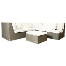 Buy Westminster Valencia 5 Seater Garden Lounge Set Online at johnlewis.com