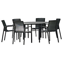 Buy Westminster Madison Round 6 Seater Garden Dining Set Online at johnlewis.com