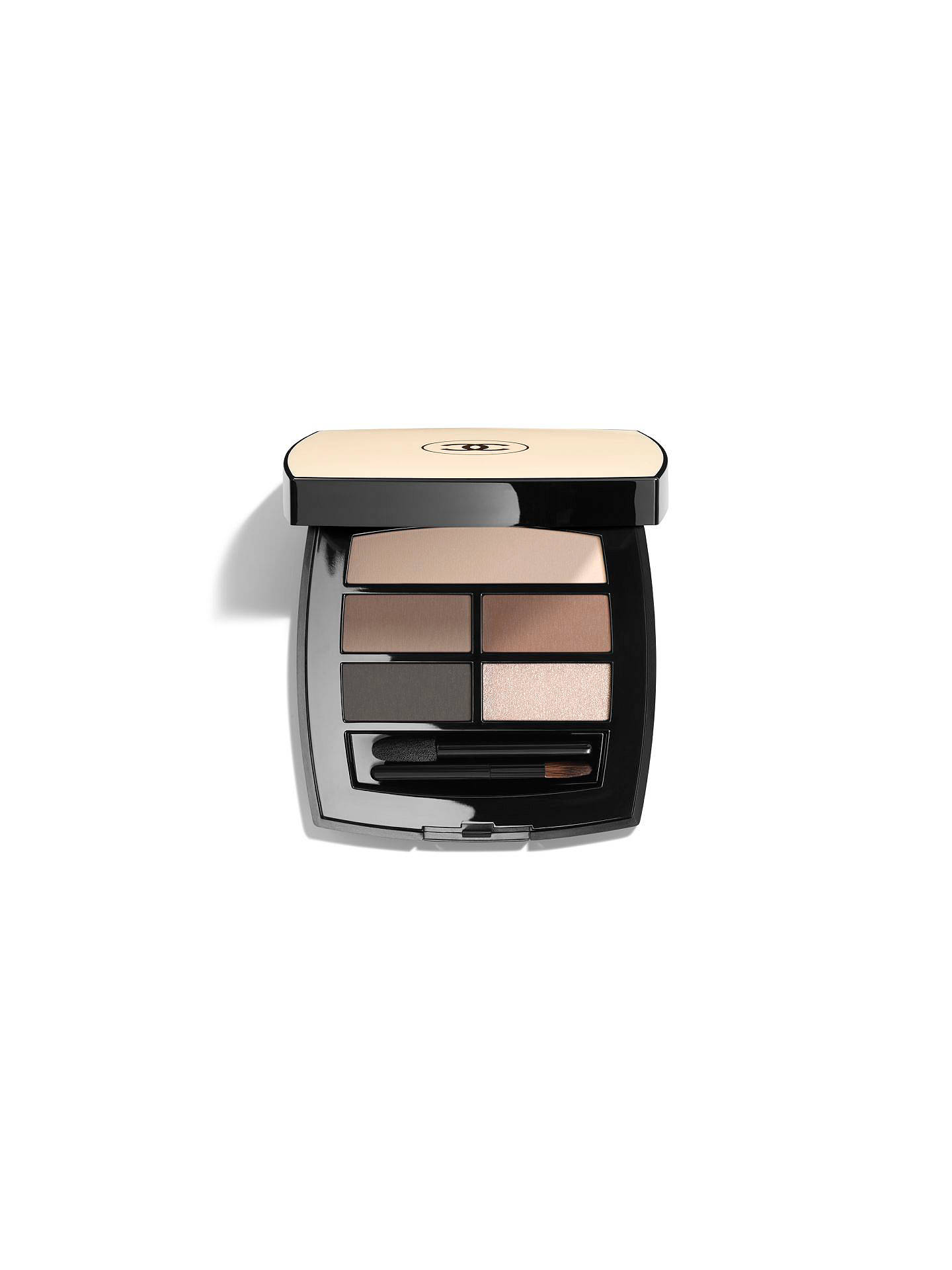 Buy CHANEL Les Beiges Healthy Glow Natural Eyeshadow Palette, Medium Online at johnlewis.com