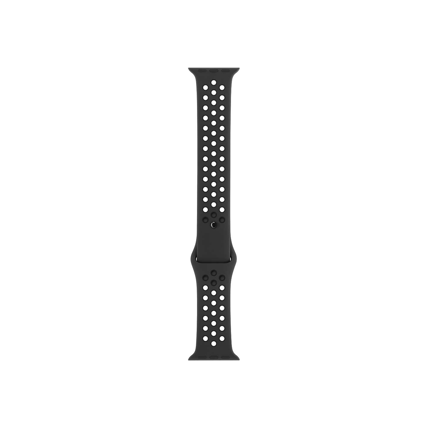 BuyApple Watch Nike+ 42mm Sport Band, Anthracite/Black Online at johnlewis. com ...