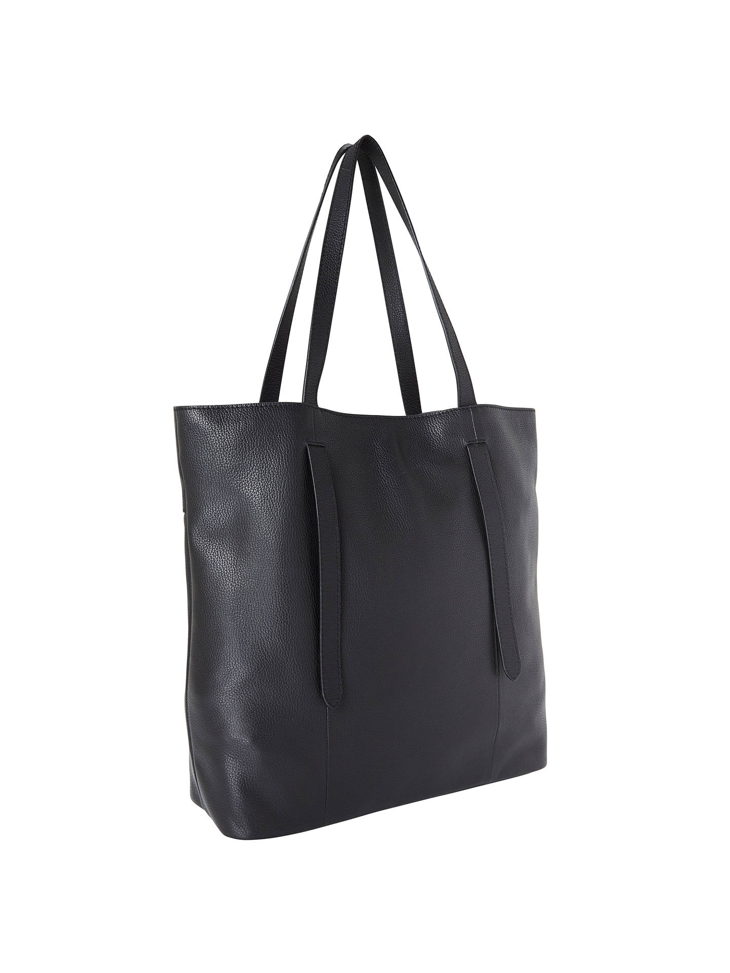 John Lewis Partners Cecilia Leather North South Tote Bag
