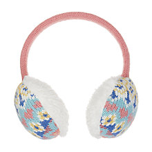 Buy John Lewis Children's Pretty Fair Isle Ear Muffs, Multi Online at johnlewis.com