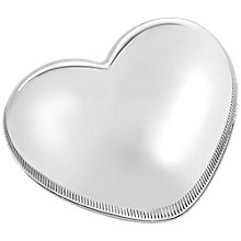 Buy Vera Wang for Wedgwood Love Always Baby Music Box, Silver Online at johnlewis.com