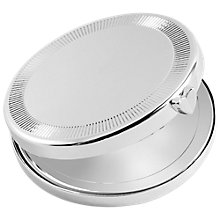 Buy Vera Wang for Wedgwood Love Always Compact Mirror, Silver Online at johnlewis.com