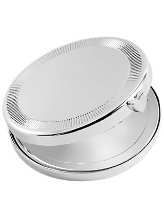 Vera Wang for Wedgwood Love Always Compact Mirror, Silver