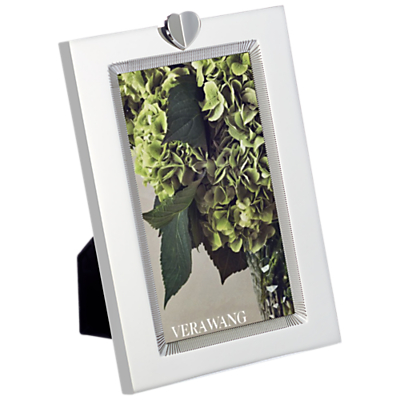 Vera Wang for Wedgwood Love Always Silver Plated Frame, 3 x 5 (7.6 x 13cm)