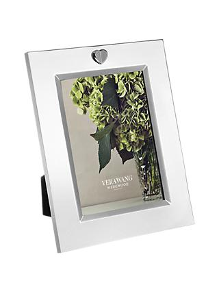 "Vera Wang for Wedgwood Love Always Silver Plated Frame, 5 x 7 "" (13 x 18cm)"