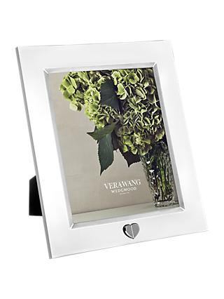 "Vera Wang for Wedgwood Love Always Silver Plated Frame, 8 x 10"" (20 x 25cm)"