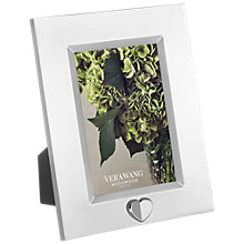 "Buy Vera Wang for Wedgwood Love Always Silver Plated Frame, 4 x 6"" (10 x 15cm) Online at johnlewis.com"