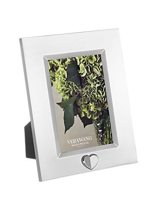 "Vera Wang for Wedgwood Love Always Silver Plated Frame, 4 x 6"" (10 x 15cm)"