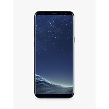 Buy Samsung Galaxy S8 Plus Smartphone, Black and Griffin Reveal Case Online at johnlewis.com
