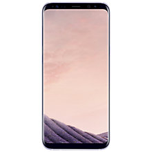 Buy Samsung Galaxy S8 Plus Smartphone, Orchid Grey and Griffin Reveal Case Online at johnlewis.com