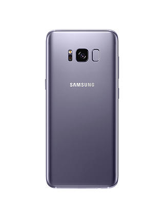 "Buy Samsung Galaxy S8 Smartphone, Android, 5.8"", 4G LTE, SIM Free, 64GB, Orchid Grey Online at johnlewis.com"