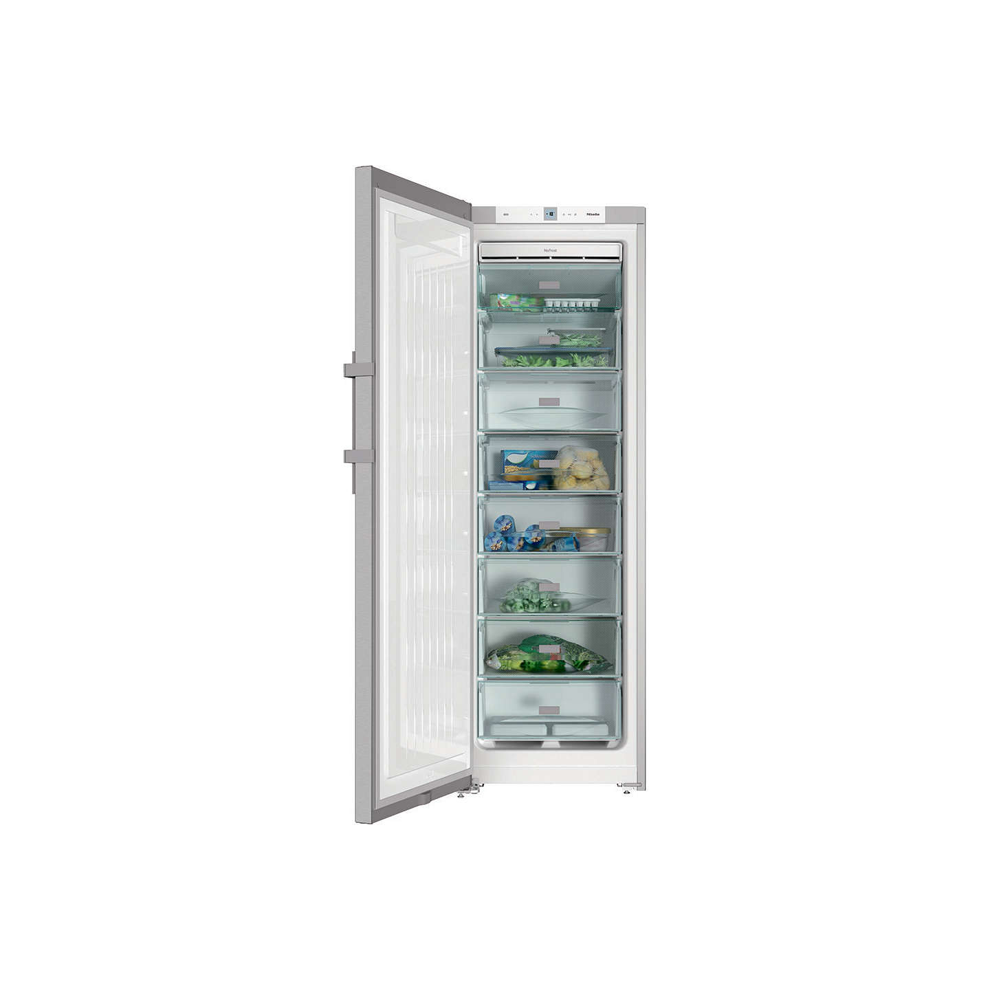 BuyMiele FN28262 Freestanding Freezer, A++ Energy Rating, 60cm Wide, Silver Online at johnlewis.com