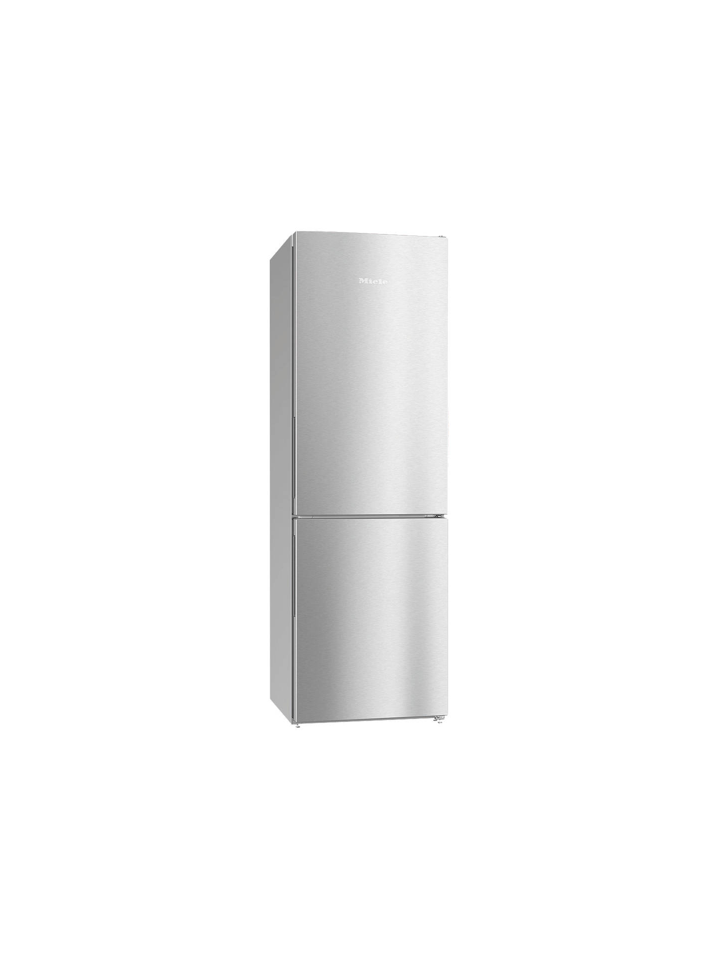 BuyMiele KFN28132D Freestanding Fridge Freezer, A++ Energy Rating, 60cm Wide, Clean Steel Online at johnlewis.com