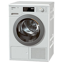 Buy Miele TCF620WP Heat Pump Freestanding Tumble Dryer, 8kg Load, A+++ Energy Rating, White Online at johnlewis.com