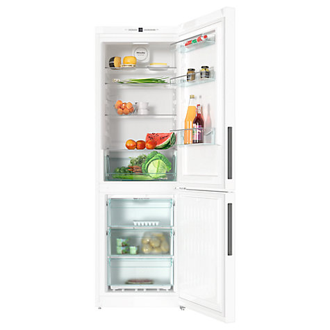 Buy Miele KFN28132D Freestanding Fridge Freezer, A++ Energy Rating, 60cm Wide, White Online at johnlewis.com