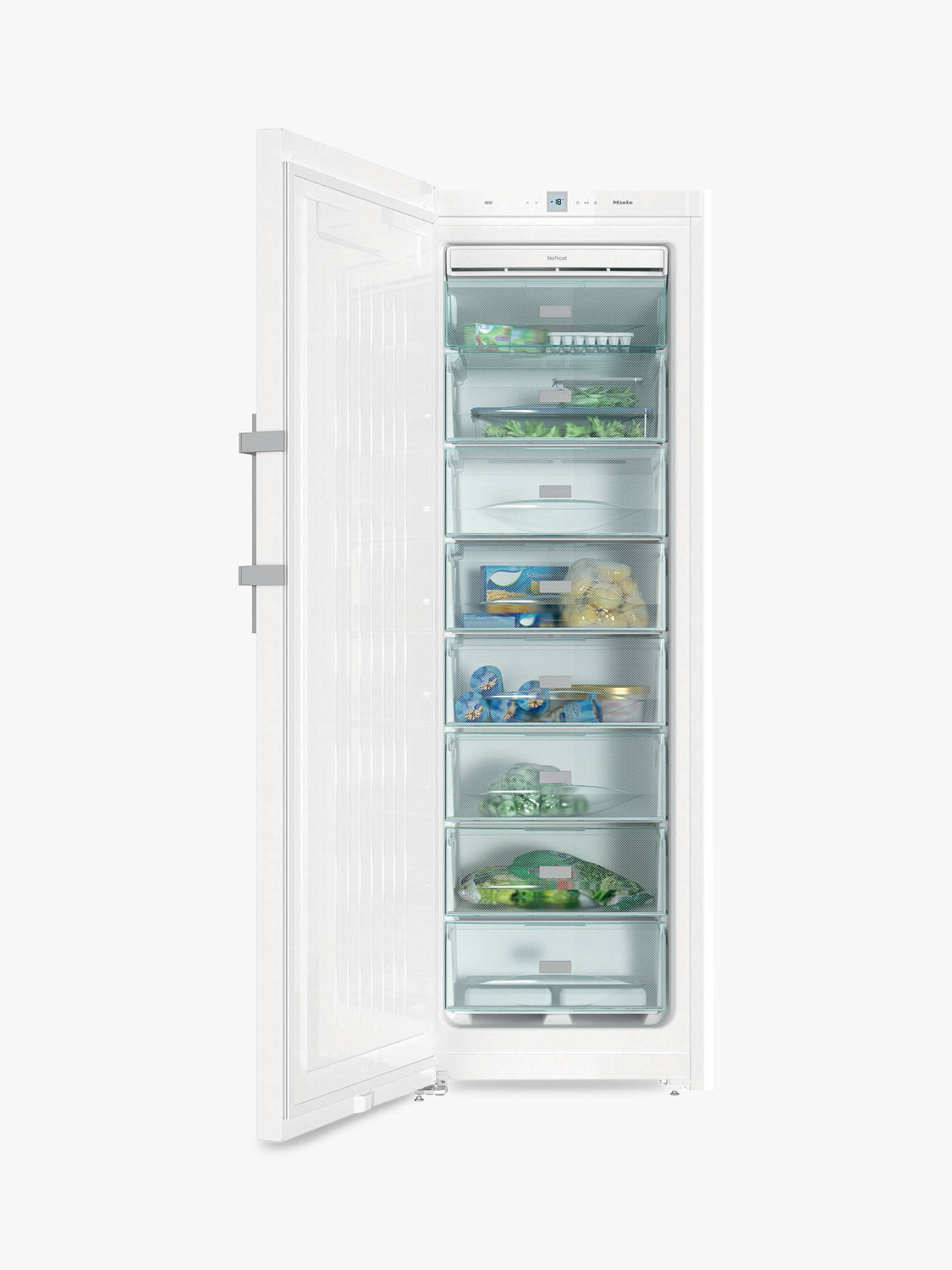 BuyMiele FN28262 Freestanding Freezer, A++ Energy Rating, 60cm Wide, White Online at johnlewis.com