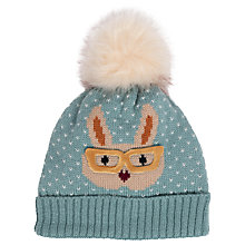 Buy Powder Cosy Bunny Pom Pom Beanie Hat Online at johnlewis.com