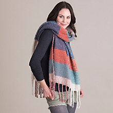 Buy Powder Mhari Blanket Scarf Online at johnlewis.com