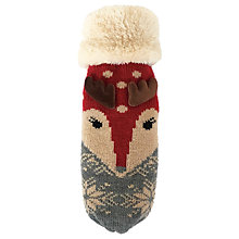 Buy Powder Cosy Reindeer Mittens Online at johnlewis.com