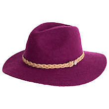 Buy Powder Katie Wool Blend Trilby Hat Online at johnlewis.com