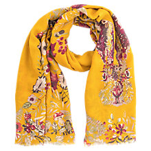 Buy Powder Forest Hare Print Scarf, Mustard/Multi Online at johnlewis.com